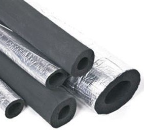 Foil Pipe Insulation - 25mm Wall