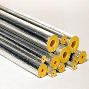 Foil Pipe Insulation - 40mm Wall