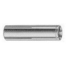 M8 x 25 Lipped Drop in Anchor ZINC YELLOW PASSIVATE KNURLED BODY
