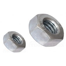 M6 HDG CL 8 HEX NUT