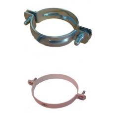 50mm (2) PVC Galvanised BOLTED HANGER