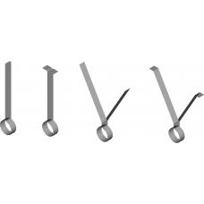 100mm (4) PVC S/Steel Strap Hanger