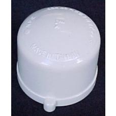 200mm (8) PVC Cap [slip]