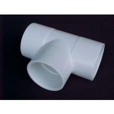 25mm PVC TEE [slip] CAT 19