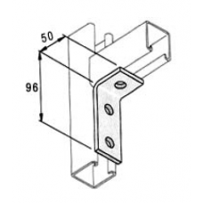 48x98 3 Hole 90deg Angle Bracket