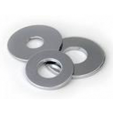 304 S/S FLAT WASHER: M6