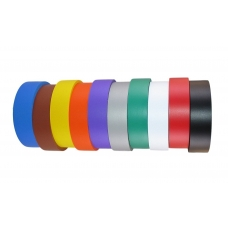 TAPE PVC ELECTRICAL RAINBOW 10 PACK