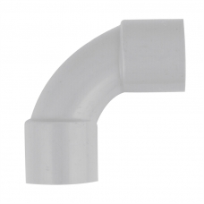 25mm Grey Solid 90 deg Elbow