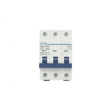 Miniature Circuit Breaker (MCB) 3 POLE 6KA -40A