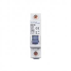 Miniature Circuit Breaker (MCB) 1 POLE - 6KA 20amp
