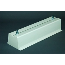 450mm PVC Mounting Block
