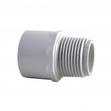 80mm PVC Male Adapter [mpt] CAT 17