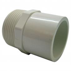 40mm Press PVC BSP Male Thread Adaptor - Cat 2
