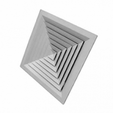 Lay-in 395 x 395 Face 4 way Diffuser