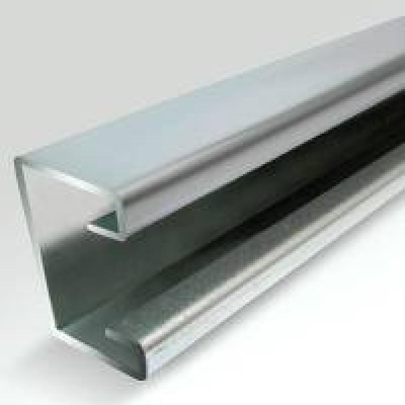 21x41x1.6mm Galvanised - Plain 6m